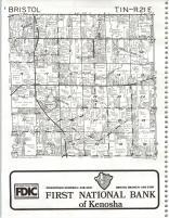 Map Image 004, Kenosha and Racine Counties 1986